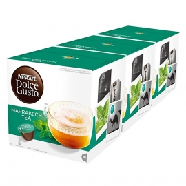 DOLCE GUSTO PACKS 3 MARRAKESH STYLE TEA