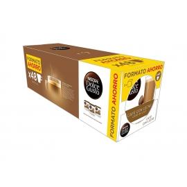 Dolce Gusto  Capsulas Cafe con  Leche Pack de 3 x 16 - 48 Cápsulas