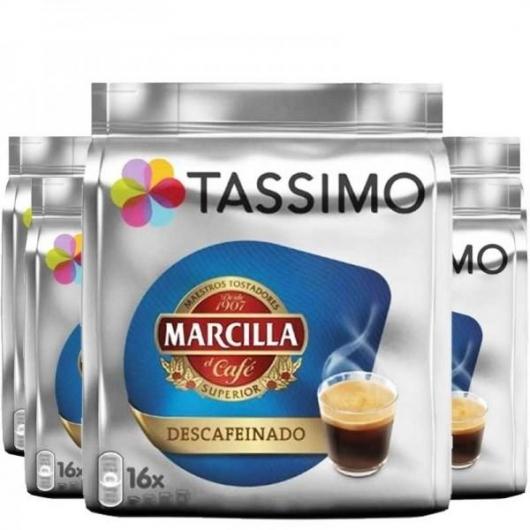 TASSIMO MARCILLA DESCAFEINADO 5 PACK