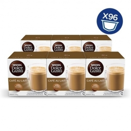 DOLCE GUSTO CAFE CON LECHE LOTE DE 6 PAQUETES