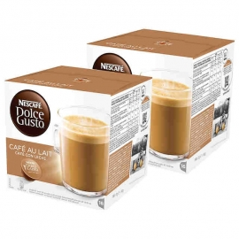 DOLCE GUSTO CAFE LECHE 2X16