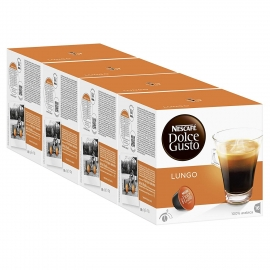 DOLCE GUSTO PACK 4 CAFE/LUNGO