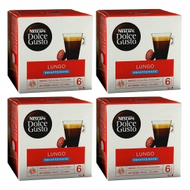 DOLCE GUSTO PACK 4 CAFE/LUNGO DESCAFFEINATO
