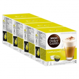 DOLCE GUSTO PACK 4 CAPPUCCINO