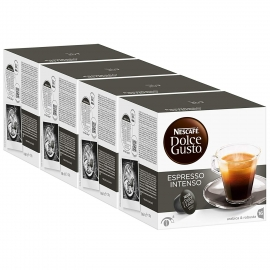 DOLCE GUSTO PACK 4 ESPRESSO INTENSO