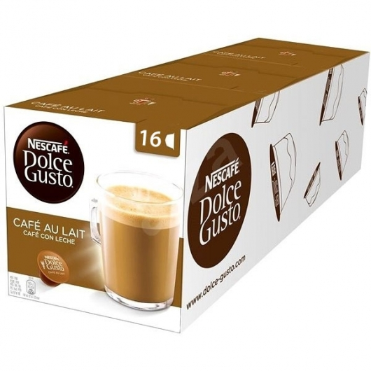 DOLCE GUSTO PACKS 3 CAFE CON LECHE