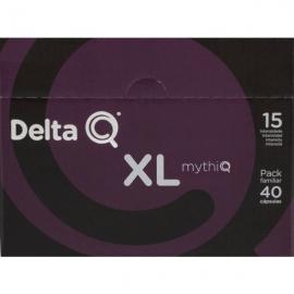 Café Delta 40 Capsulas mythiq xl Intensidad 15