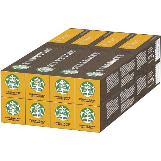 Starbucks Blonde Espresso Roast  Nespresso  pack 80 cápsulas