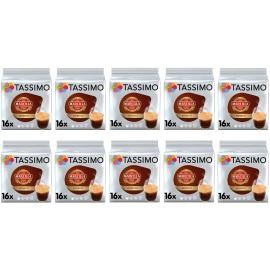 TASSIMO Marcilla Espresso Café Cápsulas - Pack 10 Paquetes (160 cápsulas)